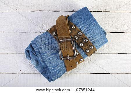 Jeans In A Belt 3