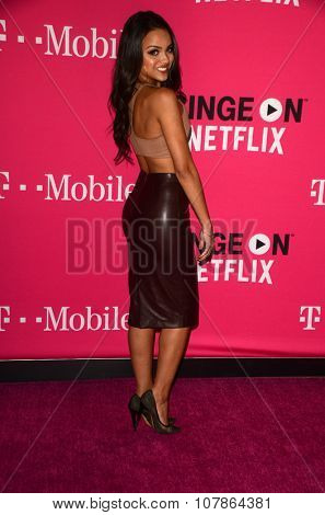 LOS ANGELES - NOV 10:  Lisa Ramos at the T-Mobile Un-carrier X Launch Celebration at the Shrine Auditorium on November 10, 2015 in Los Angeles, CA