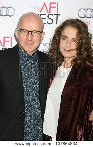 LOS ANGELES - NOV 10:  Arliss Howard, Debra Winger at the AFI Fest 2015 Presented by Audi -
