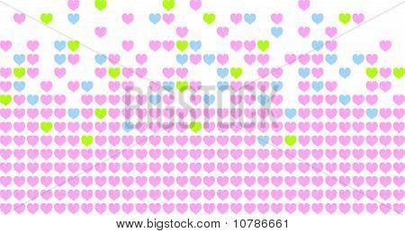 Hearts Mosaic