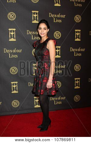 LOS ANGELES - NOV 7:  Vivian Jovanni at the Days of Our Lives 50th Anniversary Party at the Hollywood Palladium on November 7, 2015 in Los Angeles, CA