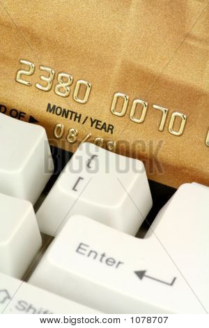 Concept Online Shopping Or Banking