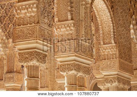 Islamic Palace Interior
