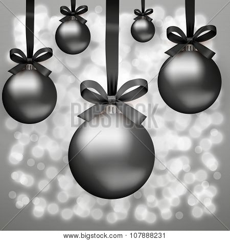 Black Friday glass balls