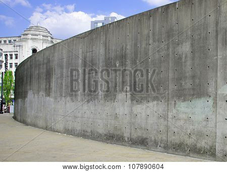 Manchester's Concrete Wall