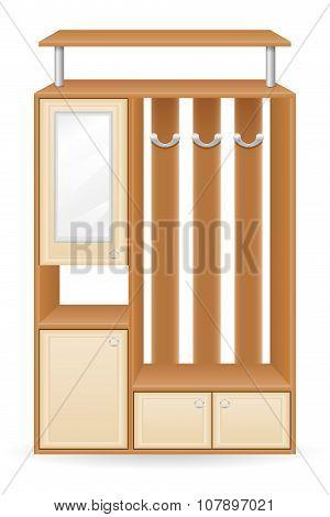 Furniture Hall Vector Illustration