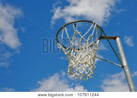Netball Stand and Net