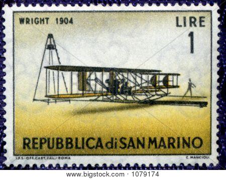 Vintage Ephemera World Stamp Rep Di San Marino