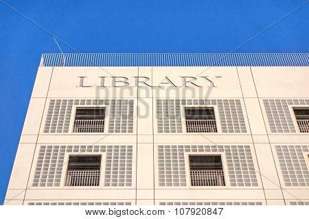 Municipal Public Library (stadtbibliothek) Of Stuttgart