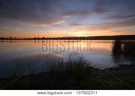 Sunset Duralia Lake Penrith