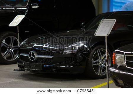 Exhibition Of Cars In Mezhyhirya