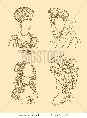 Women's Hats And Hairstyles