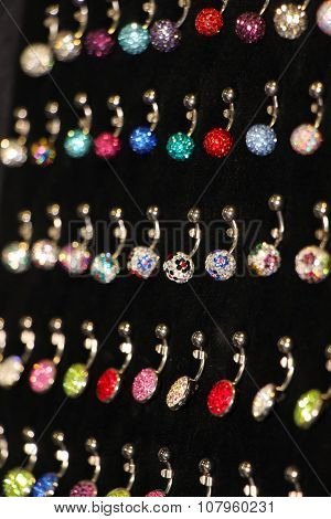 Collection Of Earrings For Navel Piercing