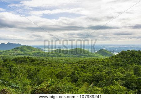 Landscape In The Mountains Of Myanmar At Pyin Oo Lwin
