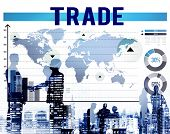 Trade Commerce Commodity Merchandise Sale Concept poster
