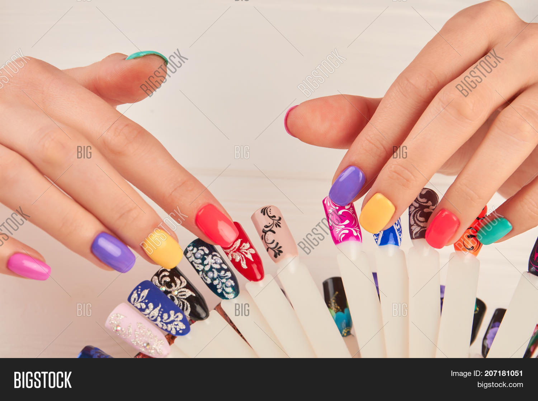 Manicured Hands Polish Image & Photo (Free Trial) | Bigstock