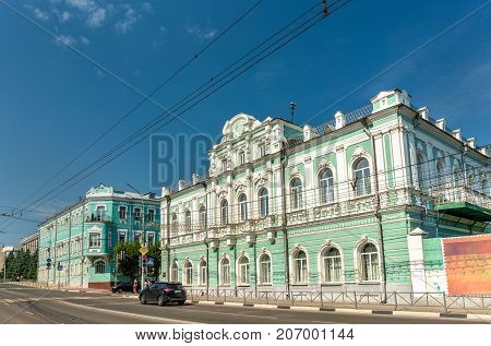 Arbitral tribunal building in the city centre of Ryazan, Russian Federation