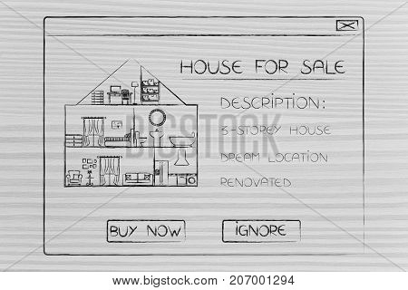 House For Sale With Description And Options Buy Or Ignore