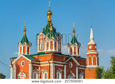 Cathedral of the Exaltation of the Holy Cross in Kolomna, the Golden Ring of Russia