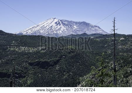 Mount St. Helens or Louwala-Clough in Skamania County Washington