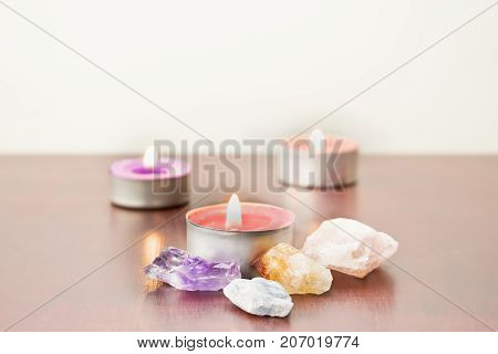 Candles And Stones.
