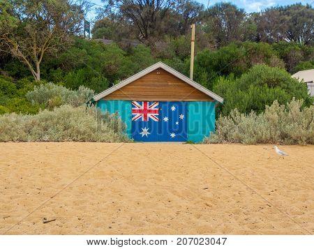 Australian Beach Bathing Boxes