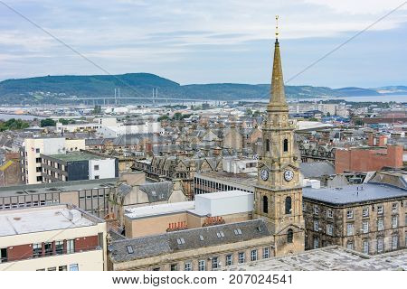 Inverness, Scotland, United Kingdom From Above