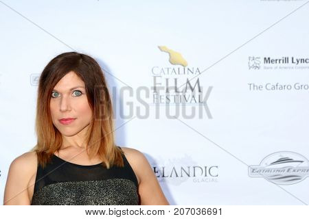LOS ANGELES - SEP 29:  Erin Carere at the Catalina Film Festival - September 29 2017 at the Casino on Catalina Island on September 29, 2017 in Avalon, CA