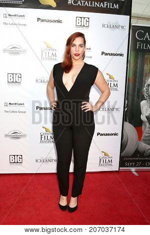 LOS ANGELES - SEP 29:  Kelsey Goldberg at the Catalina Film Festival - September 29 2017 at the Casino on Catalina Island on September 29, 2017 in Avalon, CA