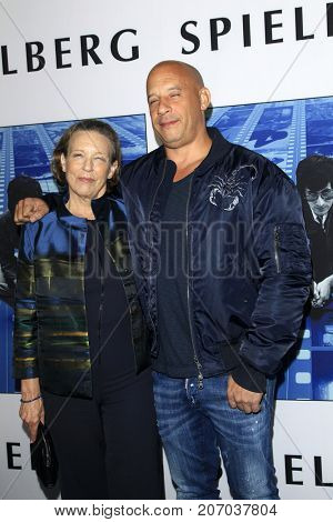 LOS ANGELES - SEP 26:  Delora Sherleen Vincent, Vin Diesel at the