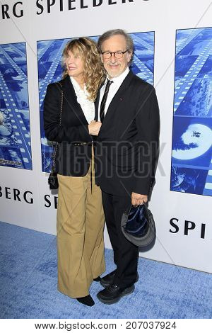 LOS ANGELES - SEP 26:  Kate Capshaw, Steven Spielberg at the