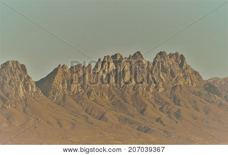 National Monument The Organ mountains in Las Cruces, NM