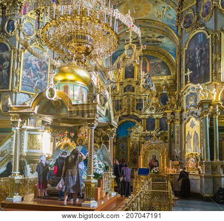 The Holy Altar In Pochaev Lavra