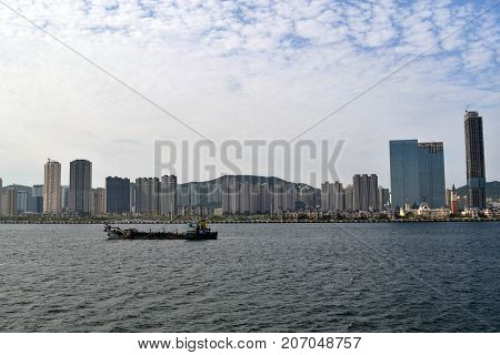 The Result Of Expansive Development In China. It's Dalian City, Not Even Top 10 Biggest City In Chin