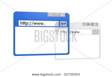 Browser Window , Abstract