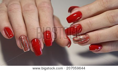 Beautiful Female Hands. Beautiful