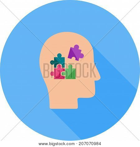 Problem, analyze, solving icon vector image. Can also be used for soft skills. Suitable for mobile apps, web apps and print media.