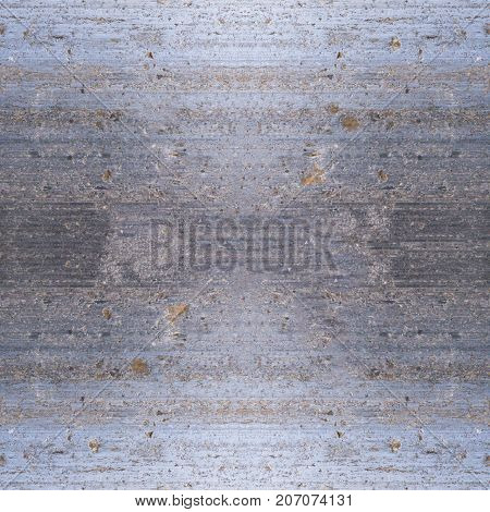 seamless weathered metal texture with spots of rust. background.
