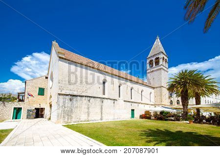 Church and Monastery of St. Dominic, Trogir Old Town, UNESCO World Heritage Site, Dalmatian Coast, Croatia