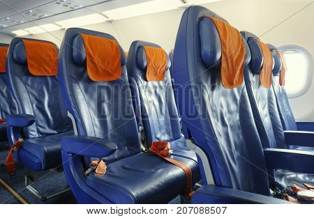 Modern leather Chairs in the new plane