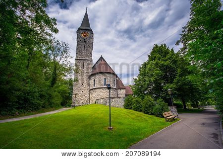Church of St. Nicholas in Balzers, Liechtenstein