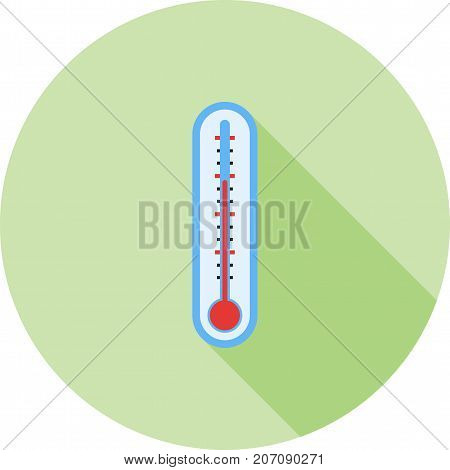Winter, low, temperature icon vector image. Can also be used for Climatic Equipment. Suitable for use on web apps, mobile apps and print media.