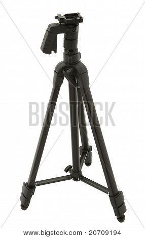 Black Camera Tripod