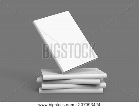 Hardcover Books Template