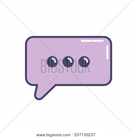 chat bubble text message icon vector illustration