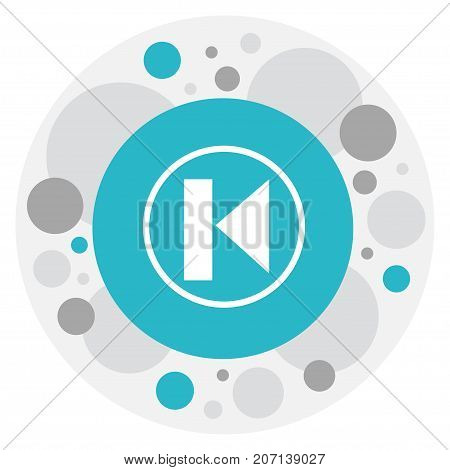 Vector Illustration Of Mp3 Symbol On Last Icon