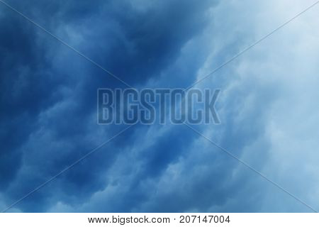 Photo background beautiful cloudy sky cloudy day