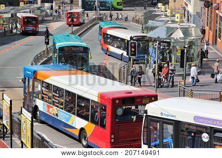 Public Transportation, Liverpool