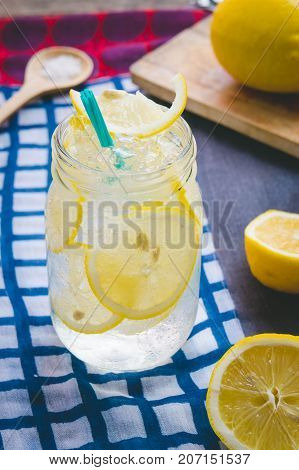 Lemon juice soda lemon juice soda salt or honey help quench thirst. Is a herbal sweeten