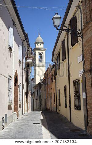 Sogliano al Rubicone (Forli Cesena Emilia Romagna Italy) historic town